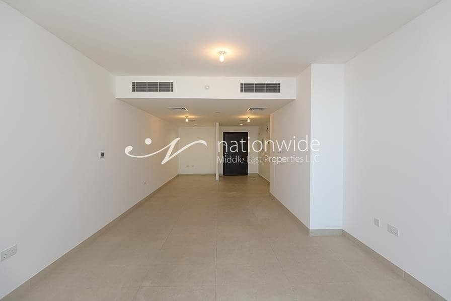 2 Vacant! Full Sea View 2 BR Apartment For 2 Cheques In Al Zein