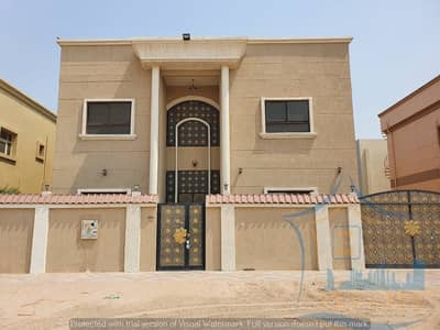 5 Bedroom Villa for Sale in Al Rawda, Ajman - For sale villa with water, electricity and air conditioners, super lux finishing