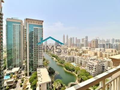 فلیٹ 2 غرفة نوم للايجار في ذا فيوز، دبي - 2BR Tanaro | Big Private Terrace | 2 Parkings