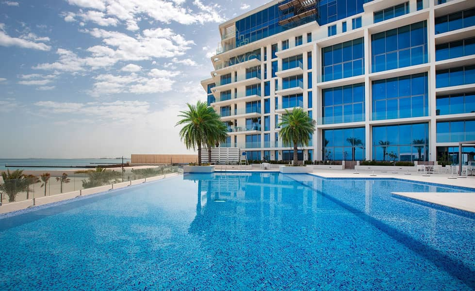 A Super Relaxing Lifestyle Now with 2br plus maid room  sea view