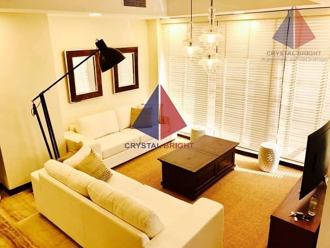 2 Spacious Furnished 4 BH + Maid with Elevator @ 115k