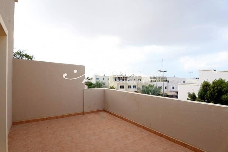 16 Vacant! Semi-Single Row 2 BR Arabian Villa For 2 Cheques In Al Reef