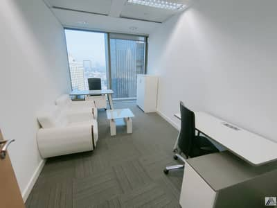 مکتب  للايجار في بر دبي، دبي - Well Fitted Office In Burjuman Business Center Linked With Metro