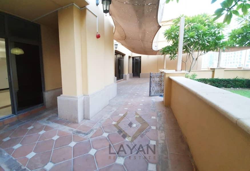 2 Duplex with huge garden / terrace area Marina view