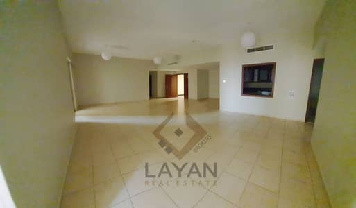 4 Bedroom Apartment for Rent in Jumeirah Beach Residence (JBR), Dubai - Low floor with Partially see view FREE maintenance