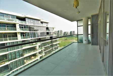 فلیٹ 2 غرفة نوم للايجار في داماك هيلز (أكويا من داماك)، دبي - POOL FACING TERRACE - GOLF AND PARK VIEWS
