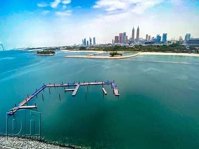 فلیٹ 1 غرفة نوم للايجار في نخلة جميرا، دبي - Multiple Cheques | Sea View | Available Now