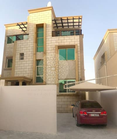 CHARMING 6 BEDROOM COMPOUND VILLA(2 villa compounding)WITH MAID ROOM FOR RENT IN SHAKHBOUT CITY