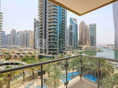 2 Bedroom Flat for Rent in Dubai Marina, Dubai - 2 Bedroom | Balcony | Stunning Marina View