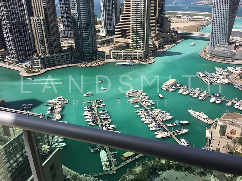 17 Beautiful 3BR+Maids Room Apt with Full Marina View