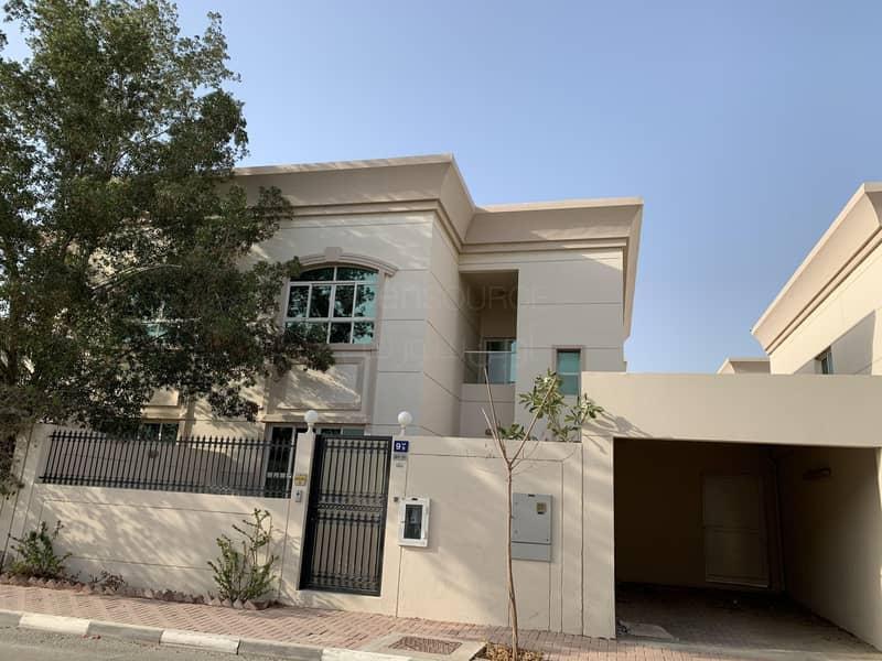 Very Nice Semi Independent villa with  Garden in Al Bada