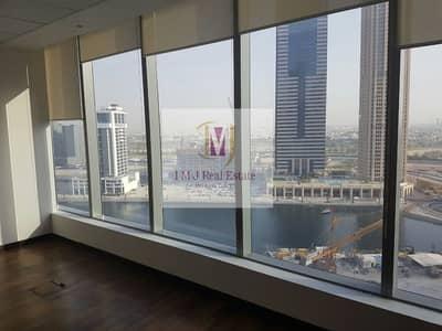 مکتب  للايجار في الخليج التجاري، دبي - Fitted Office Canal View in Bayswater