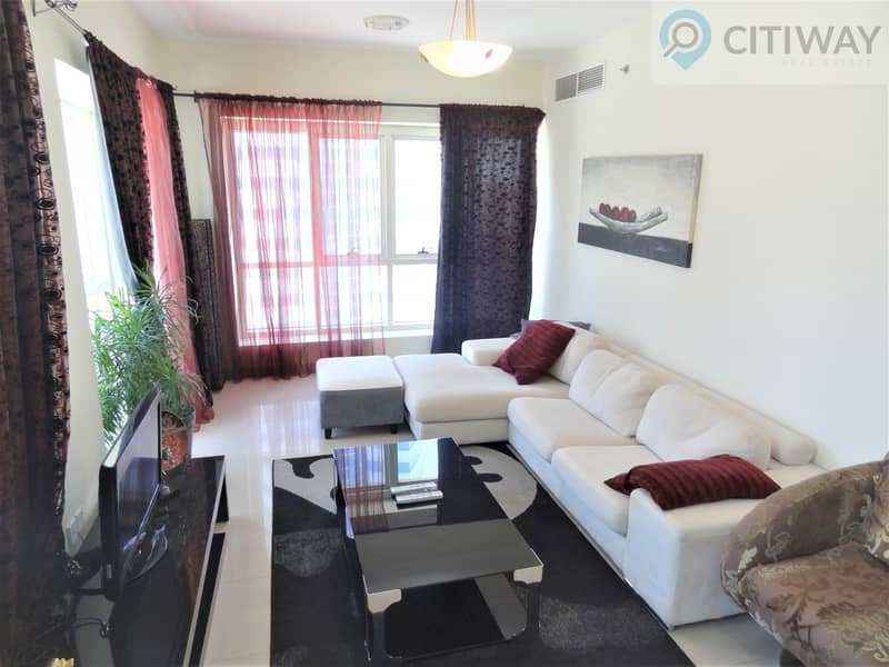 2 Fully Furnished 1 BR | Balcony | Reduced Price