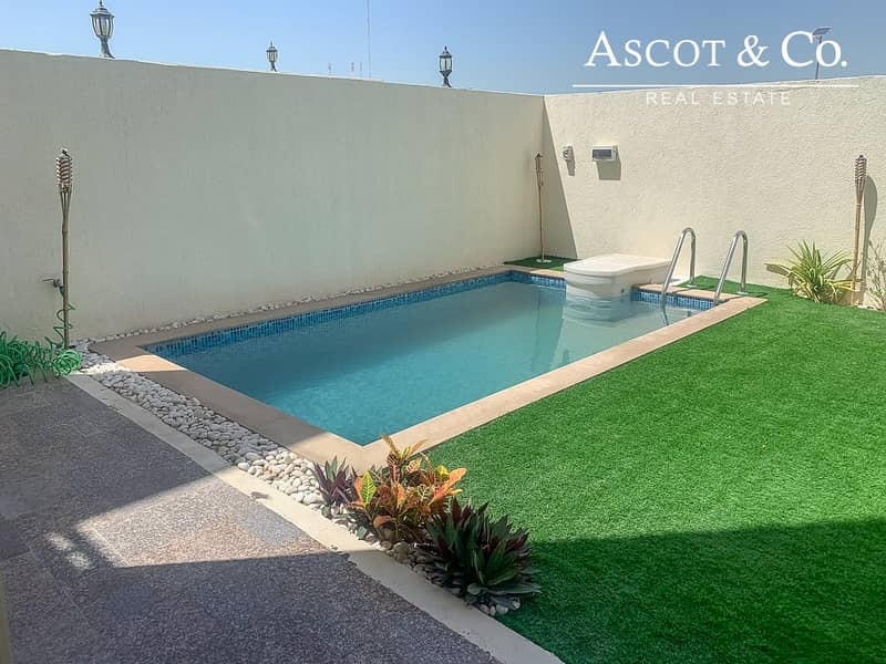Furnished  |  Landscaped Garden and Pool