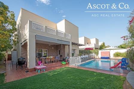 فیلا 4 غرف نوم للبيع في السهول، دبي - Upgraded 4 Beds | Pool |  Quiet Location