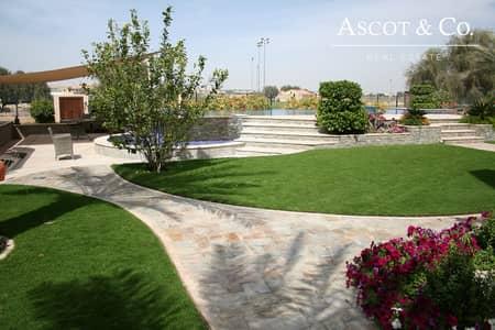 فیلا 7 غرف نوم للبيع في المرابع العربية، دبي - immaculate 7 BR Villa on the Golf Course