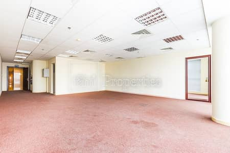 Office for Sale in Business Bay, Dubai - Fitted office | partitions | Partial Burj Khalifa