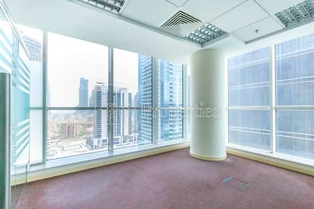 Office for Sale in Business Bay, Dubai - Fitted office | partitions | Canal View
