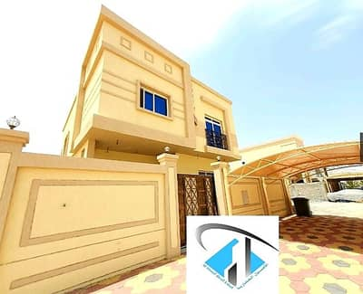 5 Bedroom Villa for Sale in Al Yasmeen, Ajman - Ultimate safety and sophistication for you and your family Personal finishing Very excellent villa Super deluxe