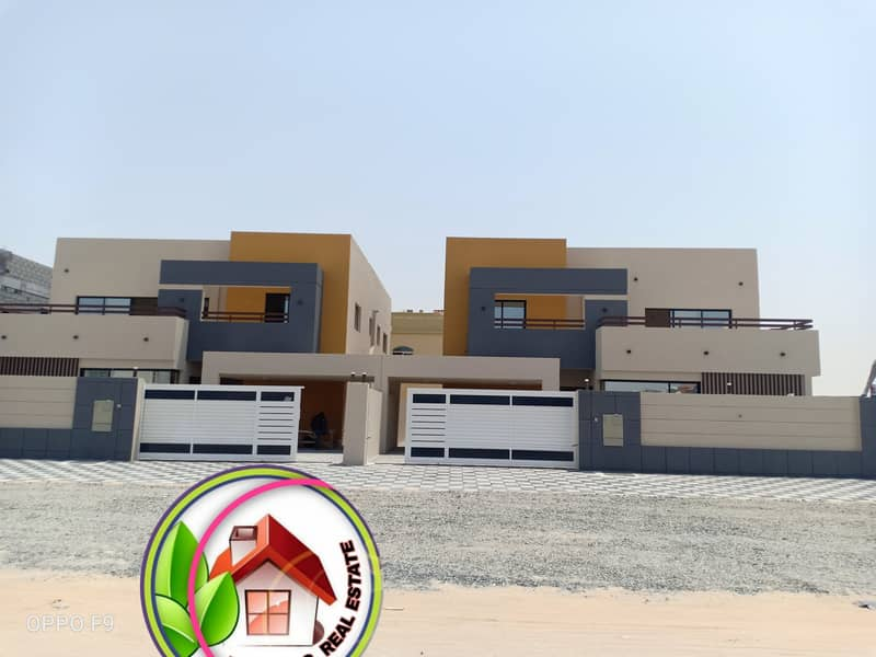 Modern luxury villa with upscale interiors for sale in Ajman
