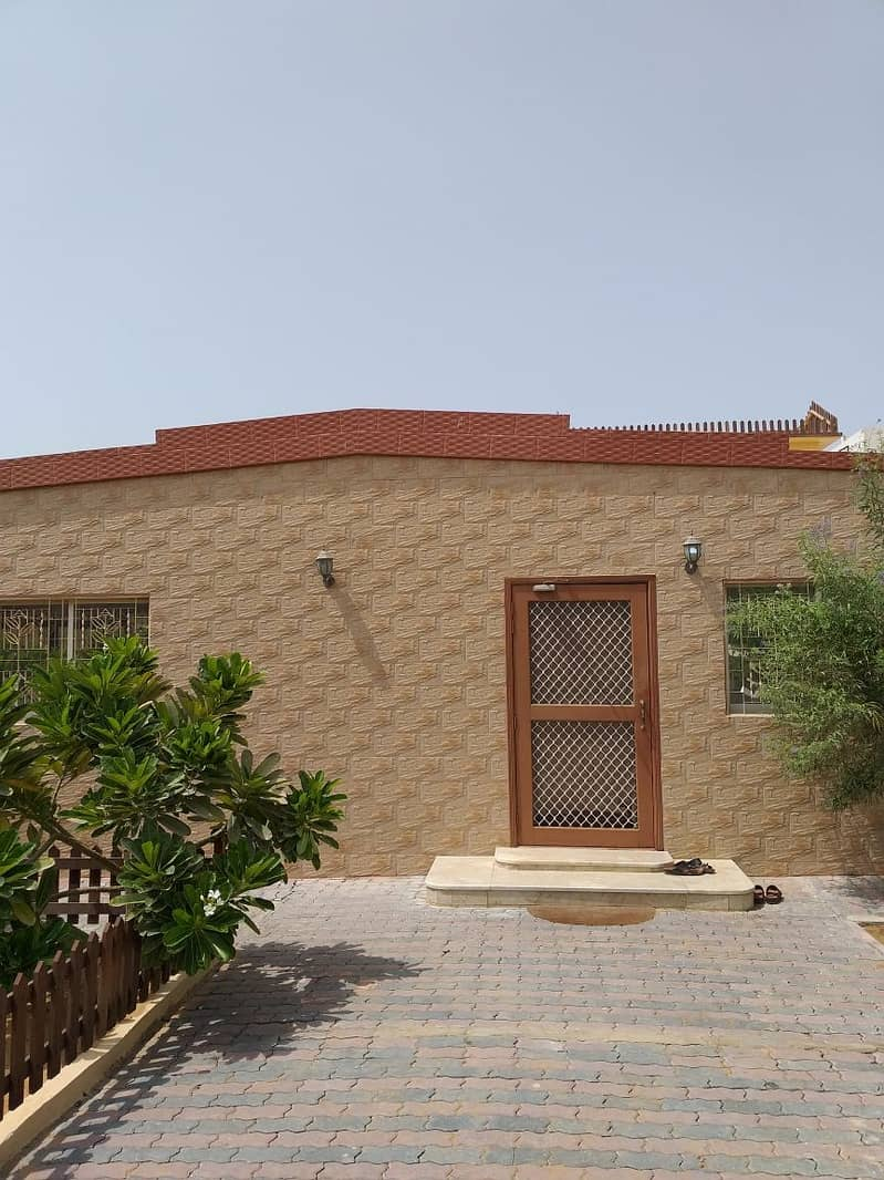 Single story 3 bedroom hall villa for sale in Al Jazzat