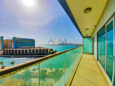 فلیٹ 2 غرفة نوم للايجار في شاطئ الراحة، أبوظبي - Luxurious 2HK With Maid + Balcony + Sea View