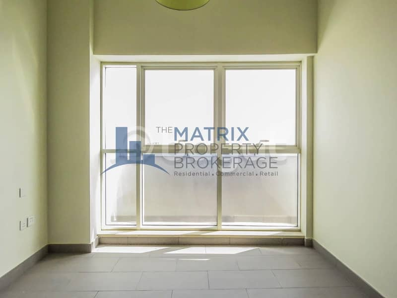 1 Unfurnished 2BR apartment with Maid AED 44k