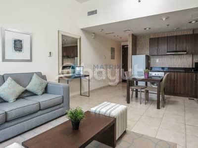 فلیٹ 1 غرفة نوم للايجار في مدينة دبي الرياضية، دبي - Beautiful cozy furnished 1BR Diamond