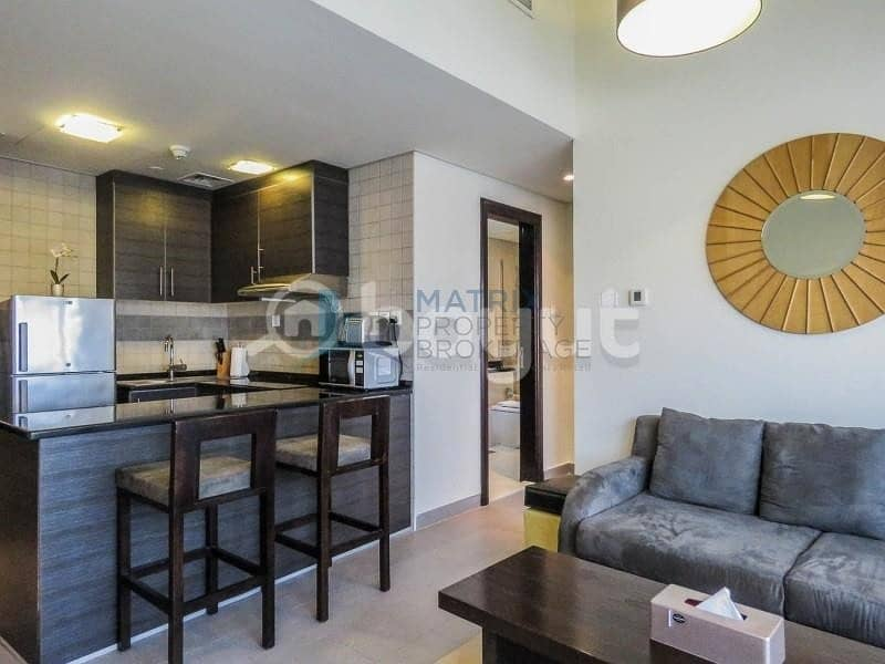 20 Fully  Furnished 1BR in the The Bridge Tower