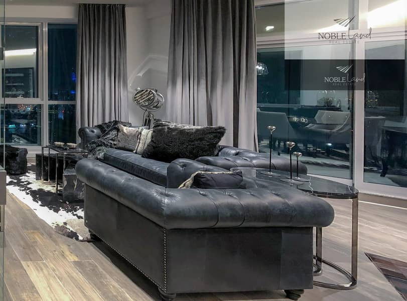 2 Fully Renovated & Furnished Two Bedroom Masculine Apartment