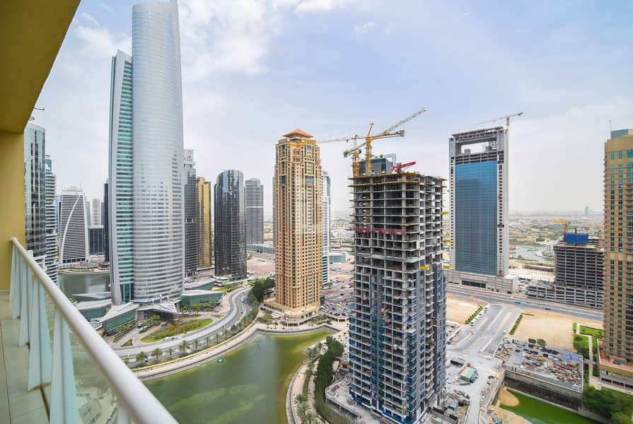 1 2Bedroom in JLT / large terrace / Full Lake view