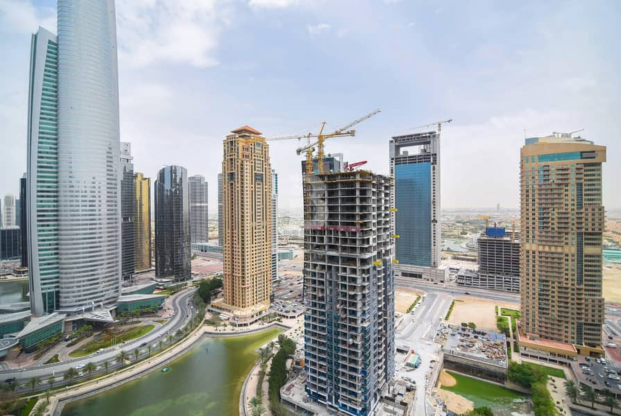 25 2Bedroom in JLT / large terrace / Full Lake view