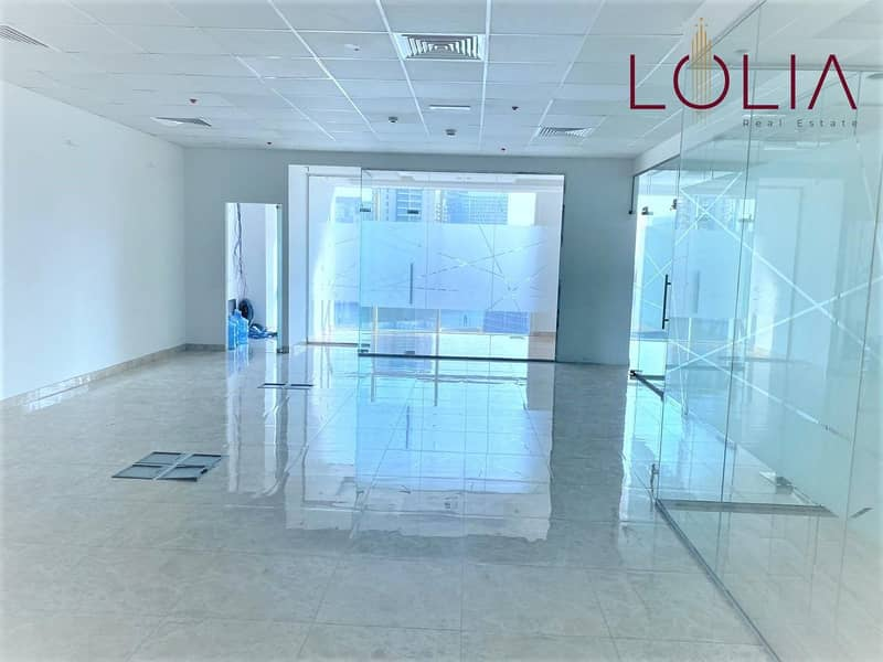 Fully fitted w/ Partition | Perfect Location  | 4 Parking