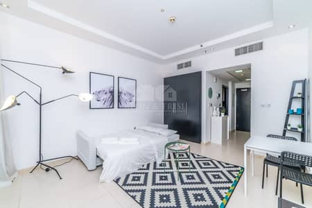 Studio for Rent in Dubai Marina, Dubai - Vacant 25th September Full Marina View High Floor Furnished