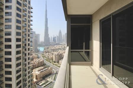 1 Bedroom Flat for Sale in Downtown Dubai, Dubai - High Floor | Vacant | Burj Khalifa Views