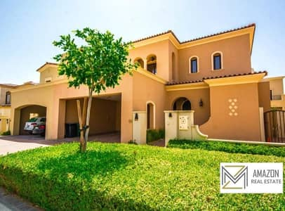 4 Bedroom + Maid with Balcony / Landscaped Garden / Ready to Move - Samara Villa Arabian Ranches