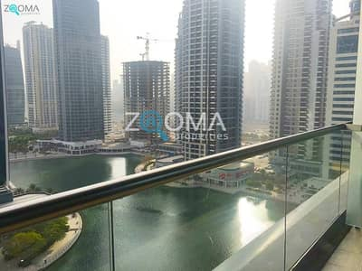 1 Bedroom Apartment for Rent in Jumeirah Lake Towers (JLT), Dubai - Lake View | High Floor| Payable in 4chqs