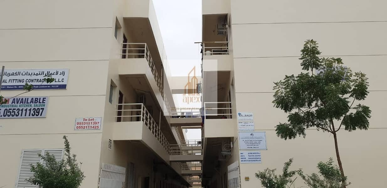 Labor accommodation available AED 1500 6 persons Capacity Rooms in sonapur