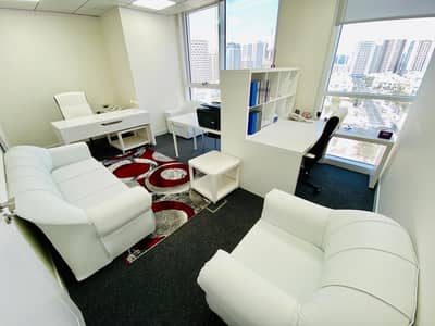 مکتب  للايجار في شارع إلكترا، أبوظبي - Ready Office with All Services Included