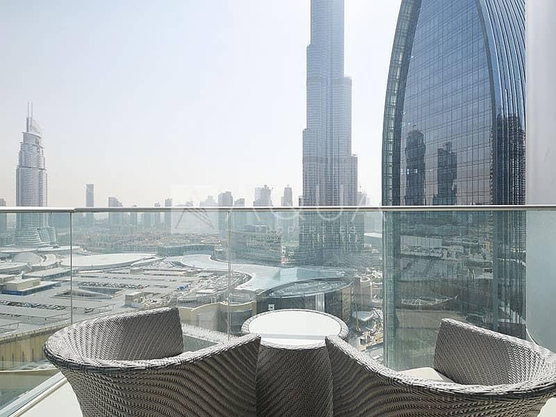 10 Furnished   Burj Khalifa and Fountain Views