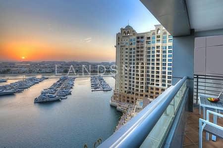 شقة 1 غرفة نوم للايجار في نخلة جميرا، دبي - Bright and Fully Serviced 1BR Apt in Dukes Hotel