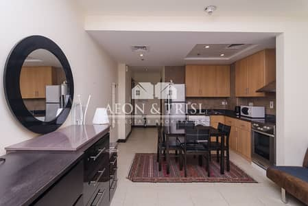 استوديو  للايجار في أبراج بحيرات الجميرا، دبي - Furnished I Full Lake View I Balcony I Affordable