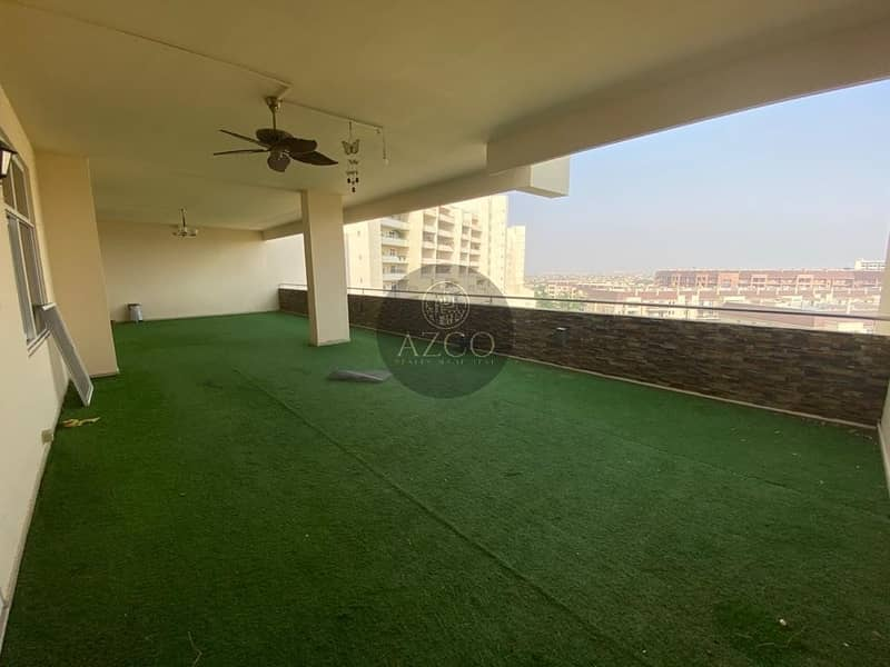 2 GARDEN VIEW | 3 MAIDS ROOM | COVERED BALCONY