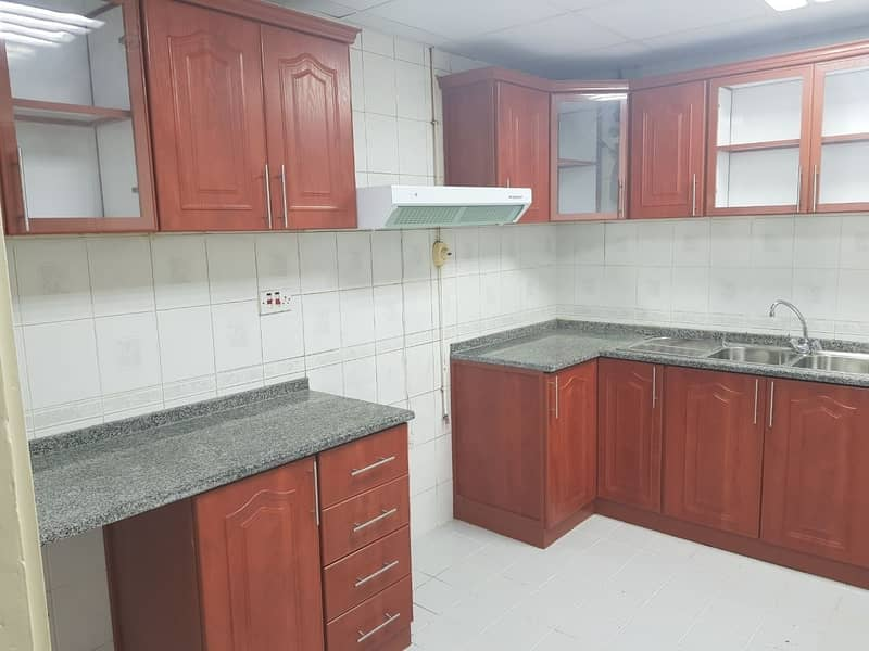 Tower Building Spacious 3 Bedrooms with Maids Room Available in Airport Road Near Suzuki showroom.