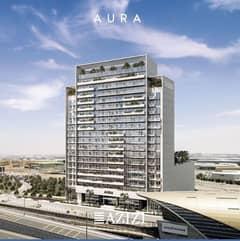 شقة في عزيزي أورا داون تاون جبل علي 1 غرف 1317000 درهم - 4449736