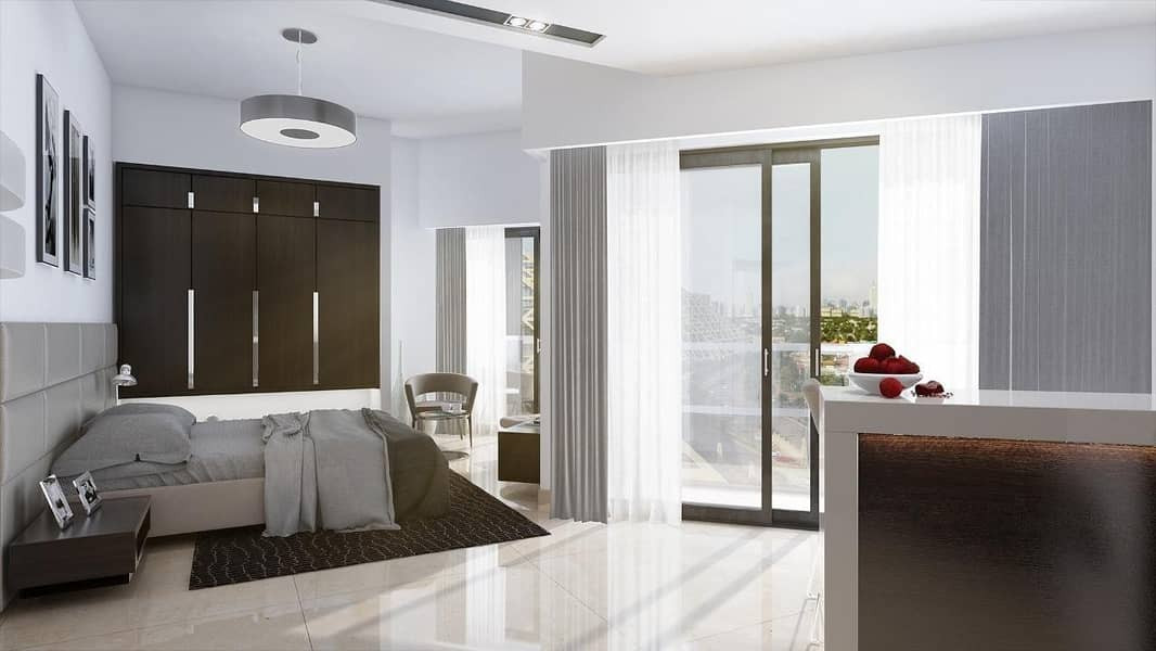 2 Invest in your luxurious hotel apartment with a 96% guaranteed return for 12 years