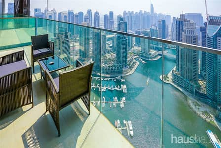 1 Bedroom Flat for Sale in Dubai Marina, Dubai - Full Marina Views | Vacant On Transfer
