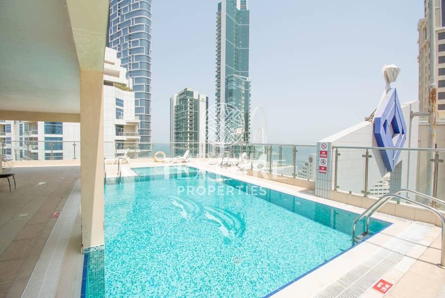 16 Spacious 1 Bedroom at Dubai Marina