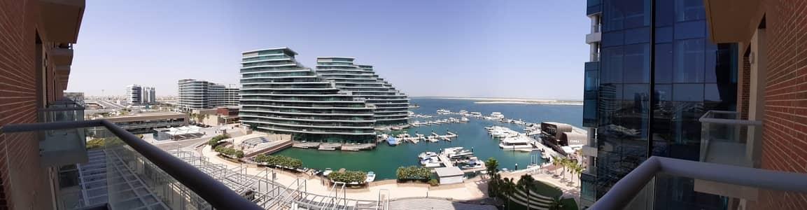 2 Bedroom Apartment for Rent in Al Raha Beach, Abu Dhabi - Elegantly spacious  Amazing sea view w/balcony  kitchen whites