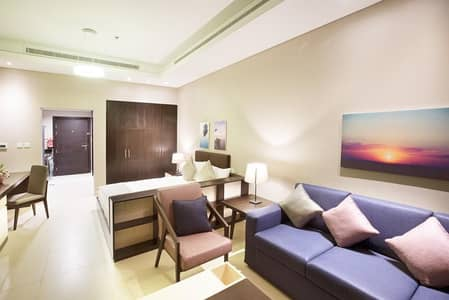 Studio for Rent in Corniche Area, Abu Dhabi - Tastefully furnished| All utility inclusive| 6-12 months contract